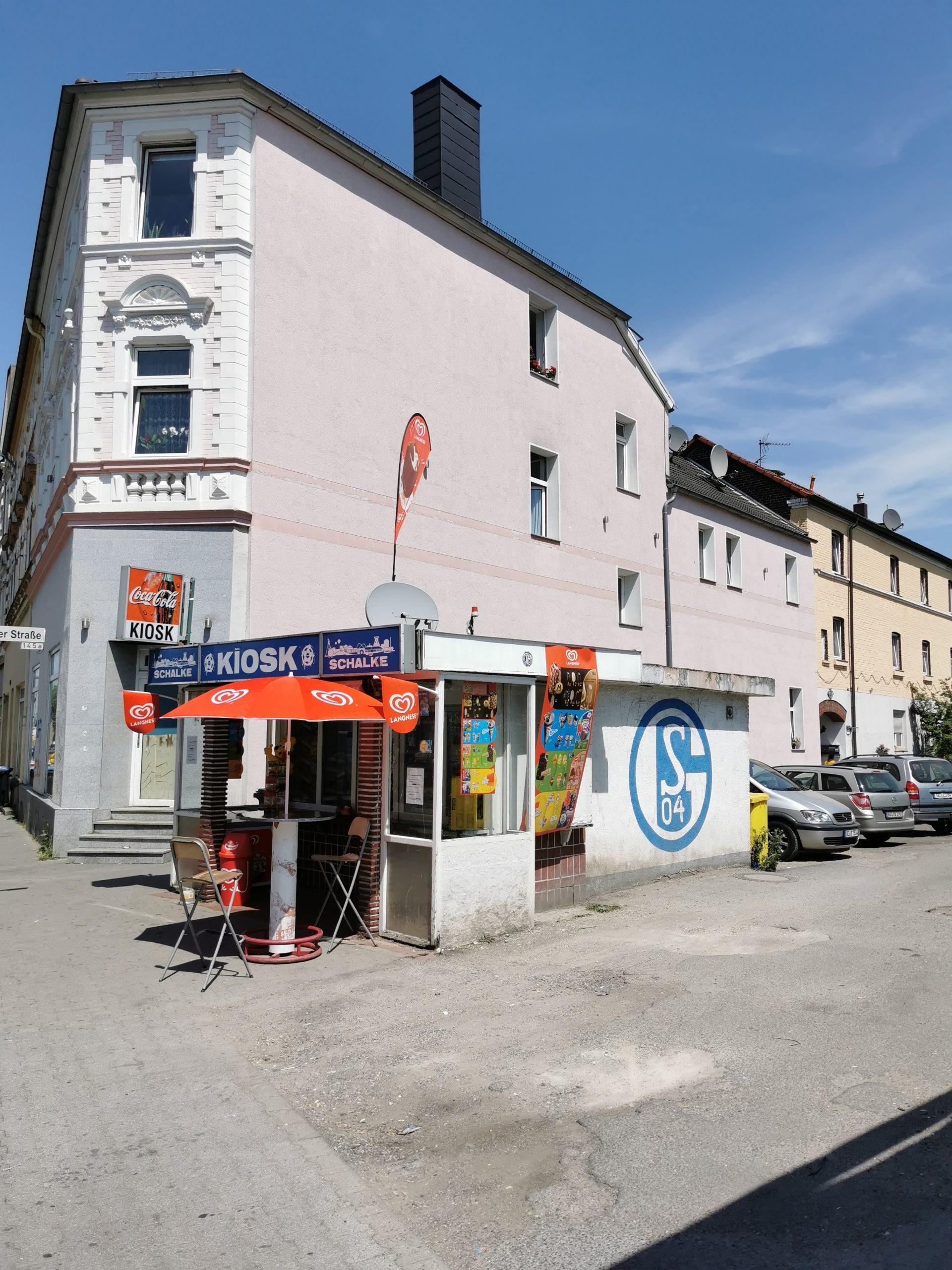 Schalke Kiosk in Gelsenkirchen Ückendorf