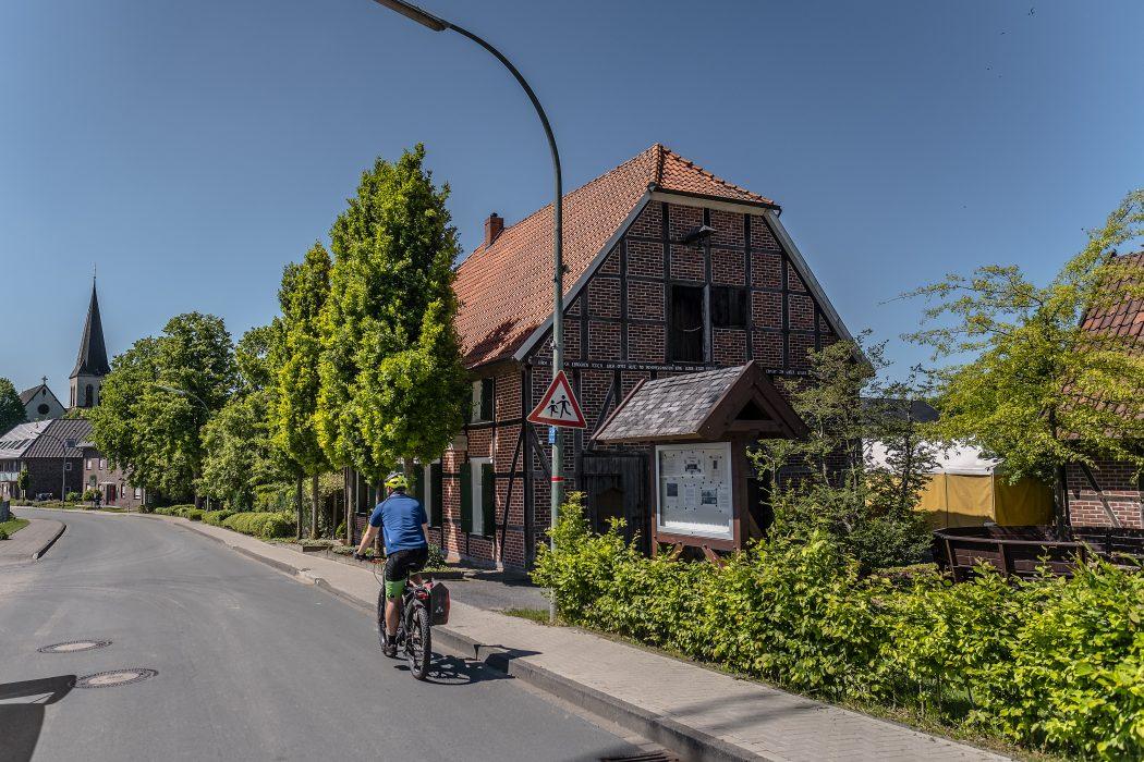 Das Foto zeigt Fachwerkromantik in Dolberg