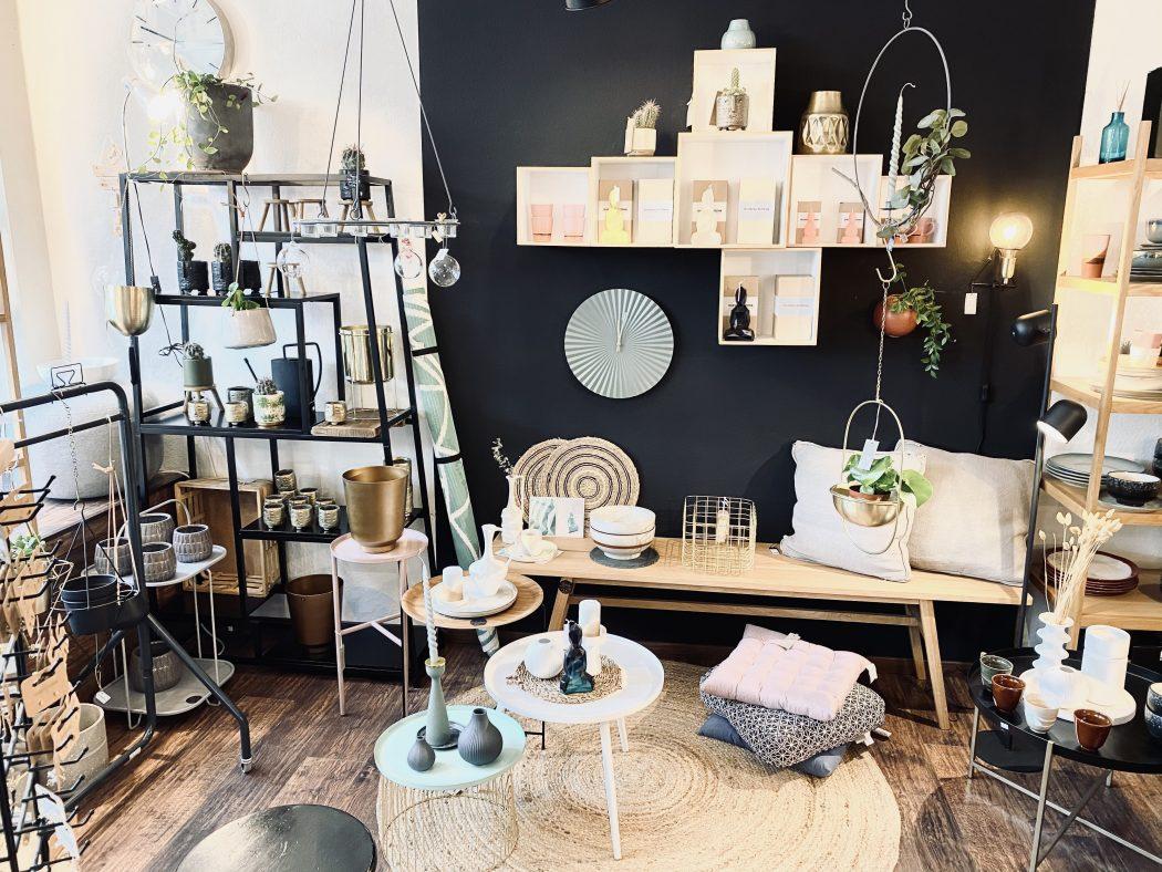 Das Foto zeigt den Concept Store Wohnbar im Szeneviertel Bochum Ehrenfeld