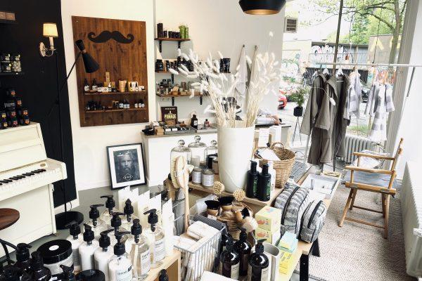 Das Foto zeigt den Concept Store die Kultur Tasche im Szeneviertel Bochum Ehrenfeld