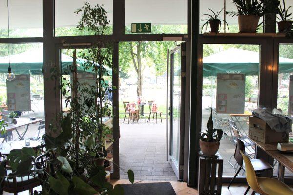 Das Foto zeigt den Innenraums des Grünen Salons in der Nordstadt von Dortmund