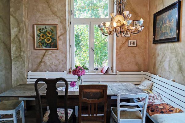 """Das Foto zeigt """"Unser Lieblingscafé"""" in Xanten von Innen"""