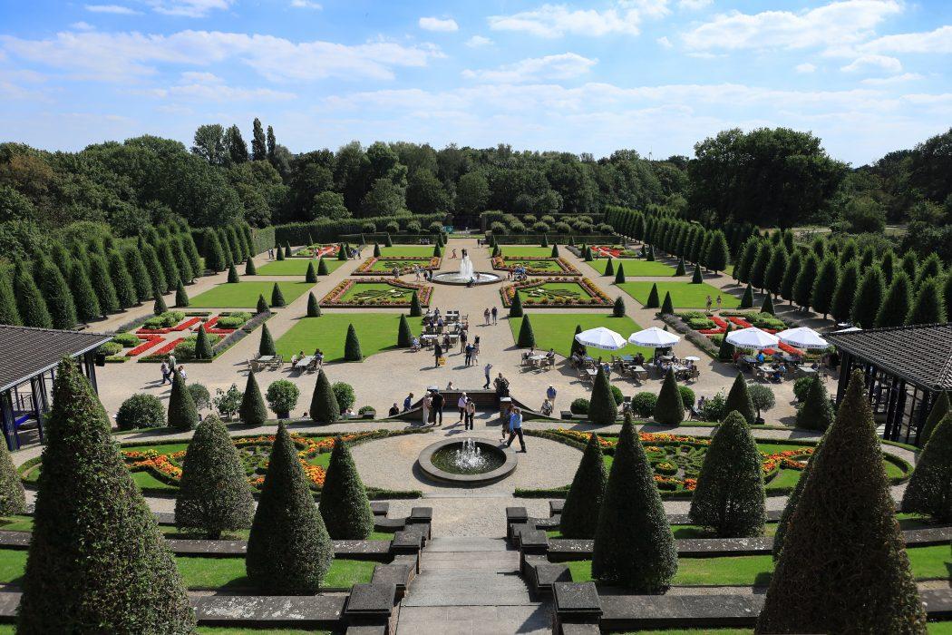 Das Foto zeigt den Garten von Koster Kamp