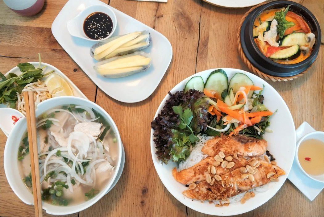 Das Foto zeigt Vietnamesisches Essen im LUA in Essen