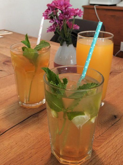 Das Foto zeigt Limonade im LUA in Essen