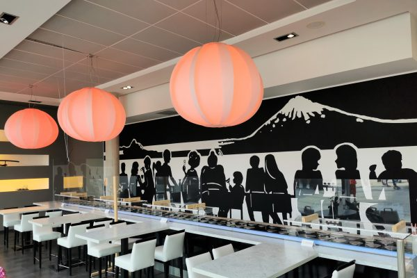 Das Foto zeigt das Daikychi in Bottrop von Innen