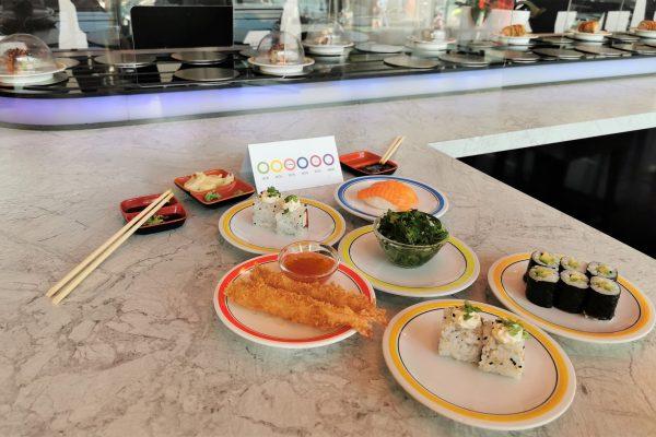 Das Foto zeigt Sushi und andere Leckereien im Daikychi in Bottrop