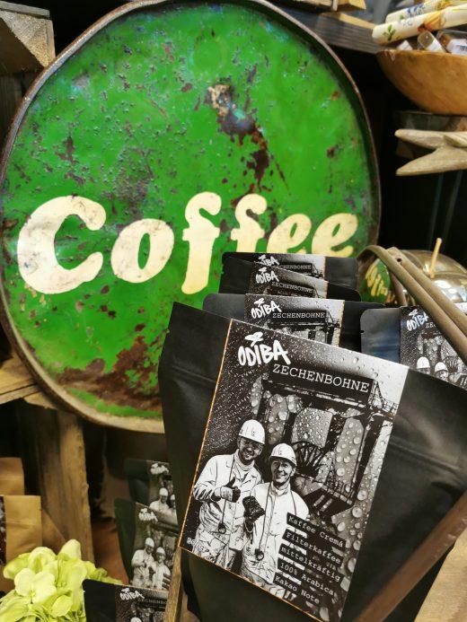 Das Foto zeigt Kaffeebohnen für zuhause von der Kaffeerösterei ODIBA in Gelsenkirchen