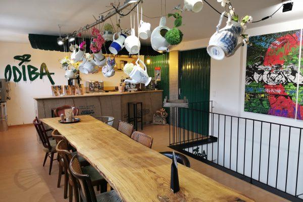 """Das Foto zeigt """"Seminarraum"""" der Kaffeerösterei ODIBA in Gelsenkirchen für Baristakurse und Kaffeetastings"""