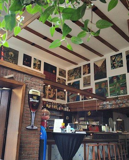 Das Foto zeigt die Tapas Bar Una Más in Bochum von Innen