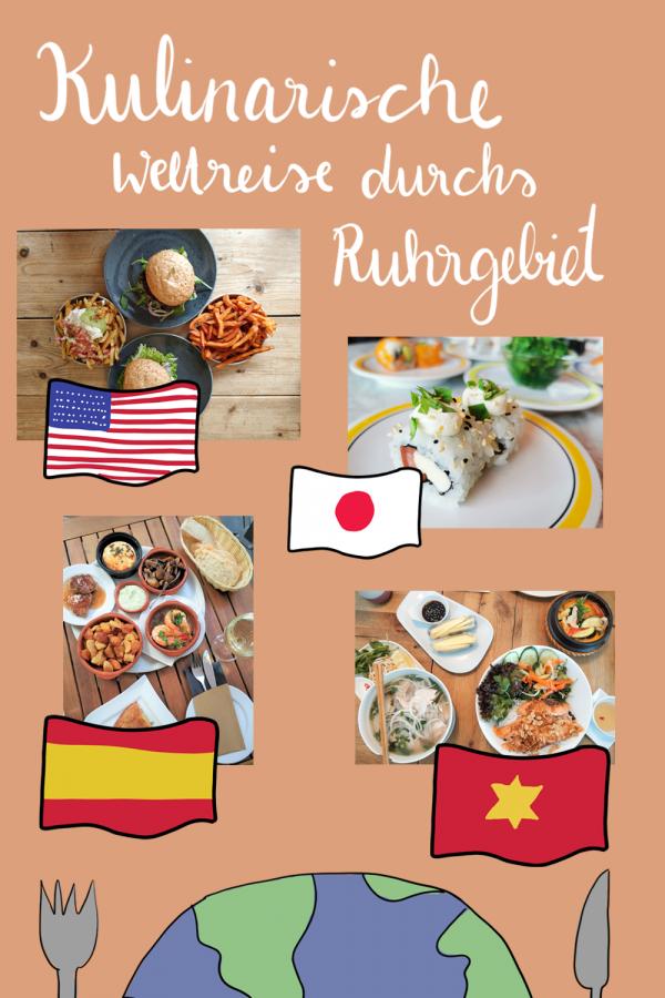 Kulinarische Weltreise durchs Ruhrgebiet