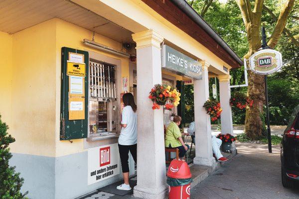 Das Foto zeigt Heike´s Kiosk in Herne
