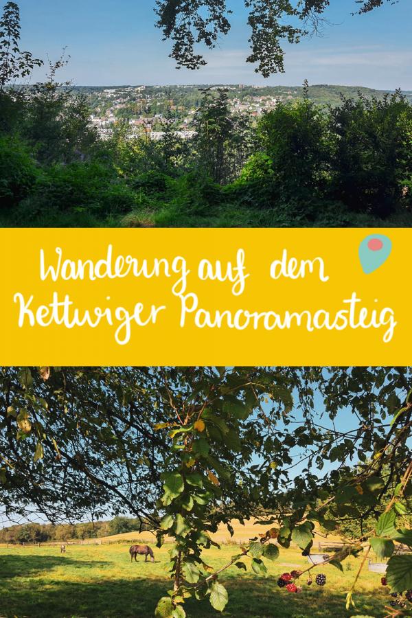Wandern auf dem Kettwiger Panoramasteig in Essen