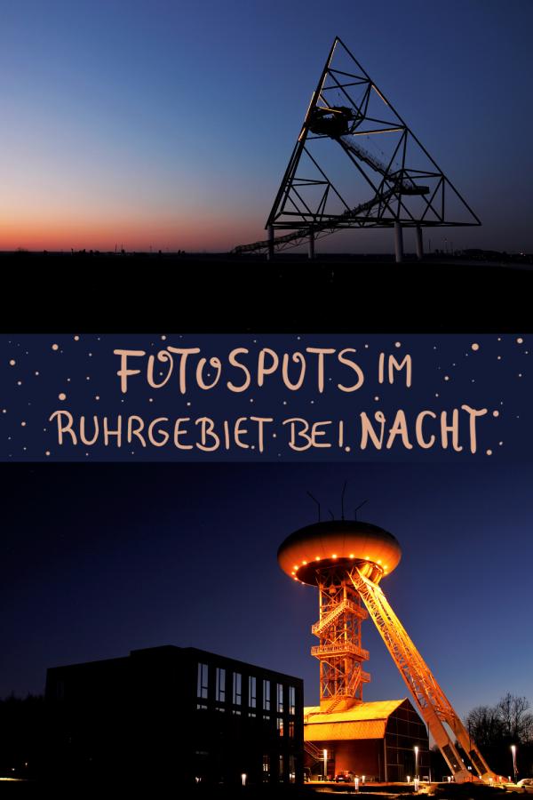 Fotospots im Ruhrgebiet bei Nacht