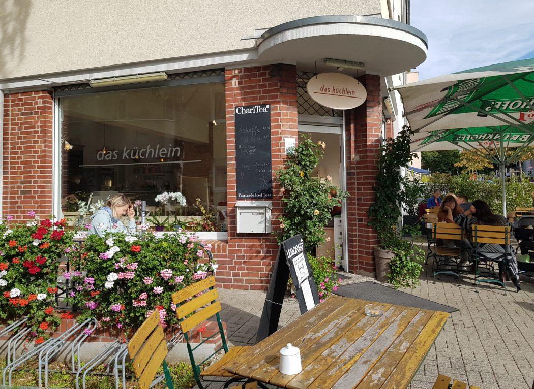 Das Foto zeigt das Café Küchlein im Kreuzviertel in Dortmund