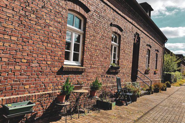 Das Bild zeigt die Siedlung Eisenheim in Oberhausen